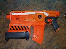NERF 2 in 1 DEMOLISHER N-Strike Elite Dart Blaster in Orange - TESTED