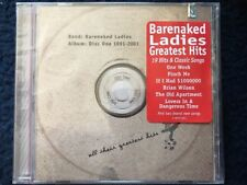 BARENAKED LADIES All Their Greatest Hits (1991-2001) CD 2001 HYPE STICKER NEW