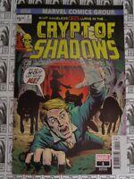 Crypt Of Shadows (2019) Marvel - #1, JTC Variant, Al Ewing/Garry Brown, NM