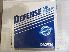 Defense DA3926 SAME AS Fram CA3490 Air Filter