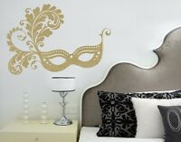 Venetian Mask highest quality wall decal stickers