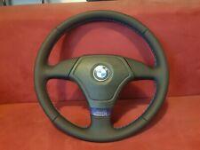 BMW Sportlenkrad Lenkrad E36 Z3 3 Speichen Neu Bezogen Leder M Naht