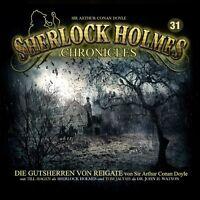 SIR ARTHUR CONAN DOYLE -SHERLOCK HOLMES CHRONICLES 31-DIE GUTSHERREN VON CD NEU