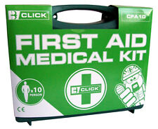 Ten Person First Aid Kit Boxed 1st Aid CFA10 Plasters Bandages Medical Wipes