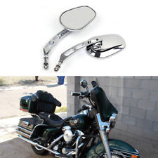 Motorcycle Rearview Mirrors for Harley Davidson Electra Glide Road King Fatboy