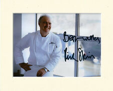 RICK STEIN TV CHEF VENICE TO ISTANBUL PP 8x10 MOUNTED SIGNED AUTOGRAPH PHOTO