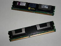 2x 4gb = 8gb ram 2rx4 dd2 667 MHz  FB-DIMM PC2-5300F Memoria ECC Fully Buffered