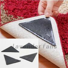 New Rug Carpet Mat Grippers Non Slip Anti Skid Reusable Washable Silicone Grip