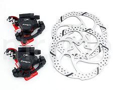 TRP HY/RD Hydraulic Road Bike Bicycle Disc Brake Set Front+Rear+160 Rotors Black