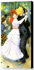 Dance at Bougival by Pierre Auguste Renoir Old Master Canvas Giclee 16x32