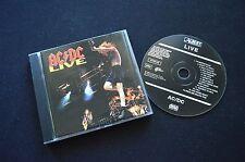 AC/DC LIVE RARE AUSTRALIAN CD! ALBERTS ACDC