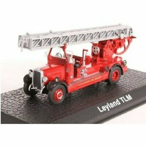 Leyland TLM Pompiers camion 1:72 Atlas Diecast