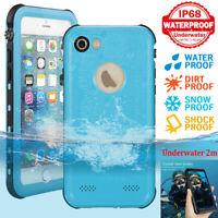 For iPhone 5 6 6S 7 8 Plus Case Waterproof Shockproof Dirtproof Underwater Cover