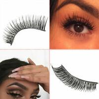 Newly Cross Section False Natural Thick Fake Eyelashes Makeup W0P7