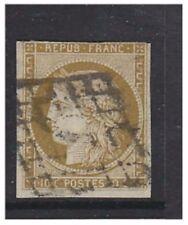 More details for france - 1852, 10c brownish bistre (ceres), 4 margins - used - sg 3