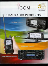 2014 ICOM Ham Radio Products Rare Original Factory Catalog IC 7800 7700 7600