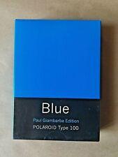 Polaroid Blue / Paul Giambarba Edition / Iso 80 / Type 100 / Instant Pack Film