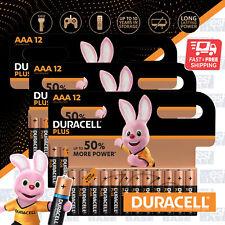 36x DURACELL AAA Plus Power Alkaline Batteries DURALOCK LR03 MN2400 Longest Expi
