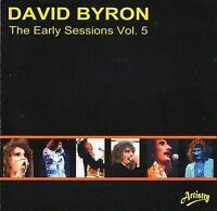 DAVID BYRON ex URIAH HEEP  EARLY SESSIONS Vol. 5 - 24 SUPER STEREO TRACKS NEW