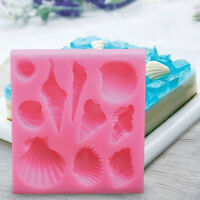 Random Creative Silicone 3D Sea Shell Conch DIY Cake Chocolate Mold Baking Tool