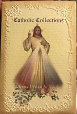 Mixed Catholic Collection Of Lace Embossed 10 Cards, Images Of Christ, Italy