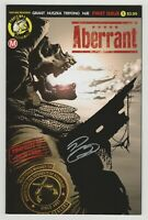Aberrant #1 SIGNED by Rylend Grant (Action Lab Danger Zone 2018) TV Show