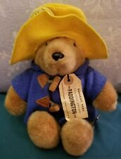 1988 Paddington 30th Anniversary Bear Eden Toys Tags Stuffed Plush Animal Doll