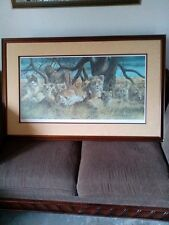 """Gary R. Swanson """" THE VANISHING SPECIES COLLECTION"""" Signed & Numbered Lithograph"""