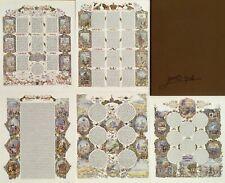 SHUKI FREIMAN 5 MEGILLOT PORTFOLIO H/S & NUMBERED LITHOGRAPH WITH CASE COA