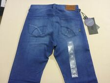 116 MENS NWT LEE RIDERS R1 LO RIDER RICH BLUE WASH STRETCH JEANS 28 $110 RRP.