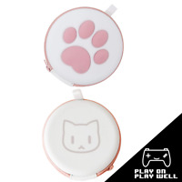 Cat Paw Nintendo Switch & Lite Carrying Case Pouch Cards Holder - FITS 16 GAMES!