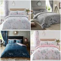 New Floral Print Duvet Cover Set Single King Size Double Bedding Quilt Cover Set