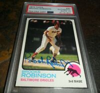 1973 Topps #90 BROOKS ROBINSON Baltimore Orioles Signed AUTO PSA/DNA GEM MINT 10
