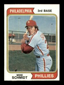 1974 Topps Set Break # 283 Mike Schmidt NM *OBGcards*