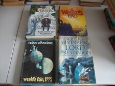 ROBERT SILVERBERG WORLD'S FAIR LORD PRESTIMION SORCERERS MAJIPOOR BOOKS 4x H/C