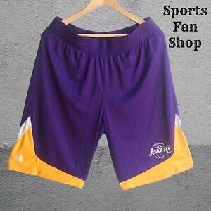 Los Angeles Lakers Size L Adidas Basketball men's shorts NBA Large