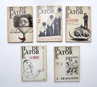 Letteratura - Storia - Trimestrale Il Delatore - Completo - 5 volumi - ed. 1964