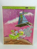 Vintage 1967 Whitman Frame-Tray Puzzle Hanna-Barbera's Space Kidettes #4559 USA