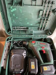 Bosch Uneo Maxx *3in1* Akku-Bohrhammer /Akku-Schrauber / Akku-Bohrer