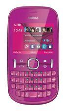 Nokia ASHA 201 Rosa rm-799 QWERTY tastiera Symbian Smartphone Senza SIM-lock