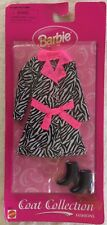 BARBIE DOLL COAT AND BOOTS: COAT COLLECTION: BRAND NEW IN PACKAGING CIRCA 1998