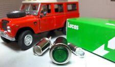 Oem Lucas SPB355 Verde Led Iluminado Luz de Advertencia Land Rover Serie 2 2a
