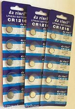 5 x CR1216 BATTERY LITHIUM 3v BUTTON COIN CELL BATTERIES Expiry 12/2016