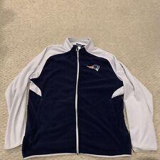 New England Patriots Reebok Fleece Jacket NFL Football Mens XL