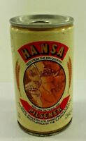 Vintage HANSA PILSENER  Steel South African Beer Can Seam Sided Tab intact B1