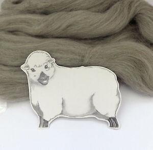 NATURAL GREY CORRIEDALE wool tops / roving / needle felting wool / fibre 50g