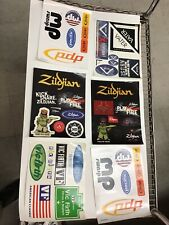 Lot Vintage Music Miscellaneous Stickers Decals G1.11