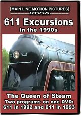 611 Excursions in the 1990s The Queen of Steam DVD NEW Highball N&W train video