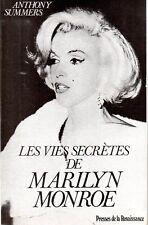 A. SUMMERS  LES VIES SECRETES DE MARILYN MONROE