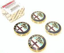 GENUINE ALFA ROMEO 159 BRERA & SPIDER  New Alloy Wheel Center Caps Set 50521712